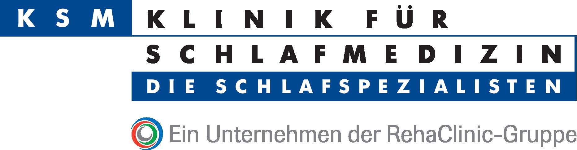 Logo KSM Klinik für Schlafmedizin